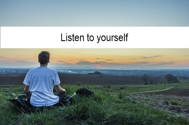 listen to yourself header