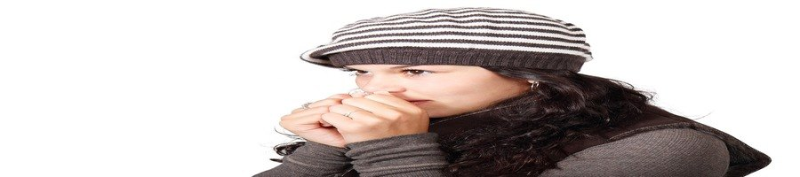physical symptoms of stress colds