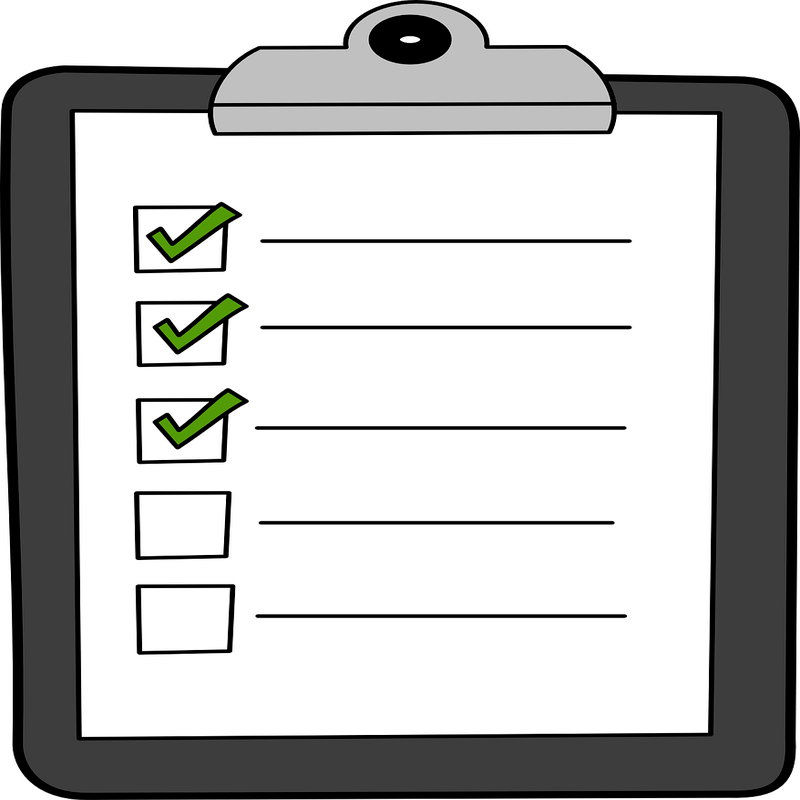 Using contextualised task lists to save time